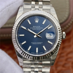DJ  Factory Stainless Steel 36mm DateJust 904L Steel V2 Edition 36x13mm 3135