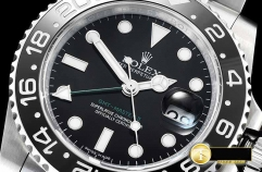 ROLEX Noob Factory Best Edition with Asia 3186 Hour Hand Adjustable Correct Hand Stack Movement GMT II 116710BLNR 904L
