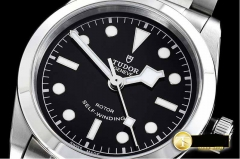 TUDOR KR Factory Tudor Heritage Black Bay 36mm Bracelet Model Heritage Black Bay 36 SS/SS Black KRF Asia 2824
