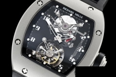 RICHARD MILLE RM0160A - RM001 Tourbillon BSS/VRU Real Flying Manual Tourbillon