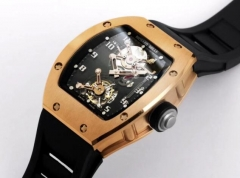 RICHARD MILLE RM0160B - RM001 Tourbillon RG/VRU Real Flying Manual Tourbillon