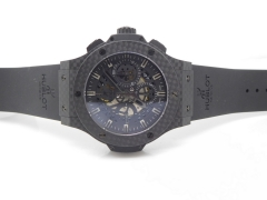 HUBLOT Aero Big Bang Carbon CF/RU Dark Skeletonal A7750 Mod