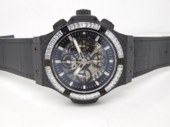 hublot Aero Big Bang Diams CF/RU Skeletonal A7750 Mod
