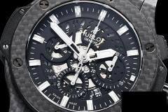 hublot Aero Big Bang Carbon CF/RU Skeletonal A7750 Mod