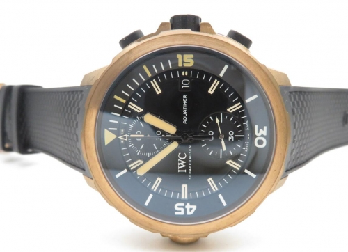 V6 Factory Best Edition 1:1 IWC Aquatimer Chronograph Expedition Charles Darwin Edition