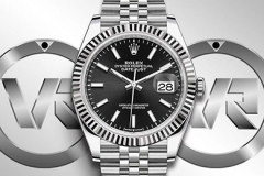ROLEX AR Factory Ref.126334 41mm DateJust Jubilee Edition 904L Steel SS/SS Black/Stk ETA 2824