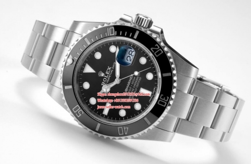 ROLEX RXF Factory Rolex Ref.116610LN Black Submariner in 904L Stainless Steel eta 116610
