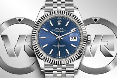 ROLEX AR Factory Ref.126334 41mm DateJust Jubilee Edition 904L Steel ETA 3235 SS/SS Blue/Stk