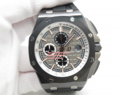 JF Factory AP Royal Oak Offshore 2019 CER/RU Grey Asia 7750 Automatic with Secs 26415