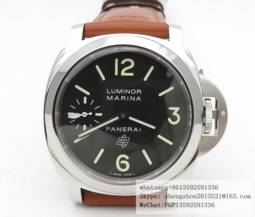 PANERAI XF Factory PAM005 Luminor Marina 44mm  PAM005 Luminor Marina 44mm SS/LE Blk XF ETA 6497
