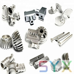 OEM&ODM cnc machining and milling turning parts made by SYX