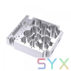 OEM Precision Machining Milling Turning Aluminum CNC Machinery Parts with  Anodizing