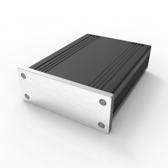 82.8x28.8-110 aluminium amplifier electronics enclosure for telecom equipment