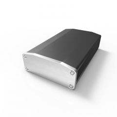64x25.5-100 small aluminum amp enclosure box for electrical