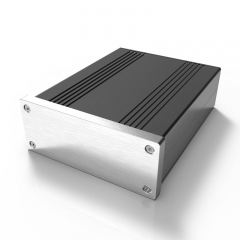 106x40-L automobile power converter box amplifier housing box alloy extruded aluminum enclosure