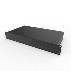 PD002-1.5U Diy aluminum electrical chassis box enclosure case rackmount