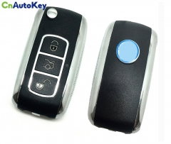 FF011 3 buttons face to face copy remote  motor car key  remote key with 433.92MHz
