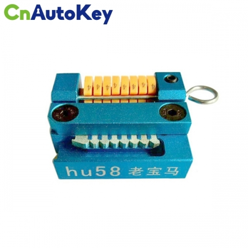 KCM015 HU58 Manual Key Cutting Machine Support All Key Lost for BMW Old Models