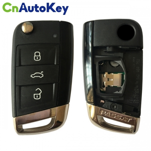 CN001077 ORIGINAL Smart Key for VW Passat 3 Buttons 434 MHz ID48 56D 959 752 Keyless GO