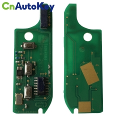 CN017006 ORIGINAL Flip Key (PCB) for Fiat Buttons3 Frequency 433 MHz Transponder PCF 7946