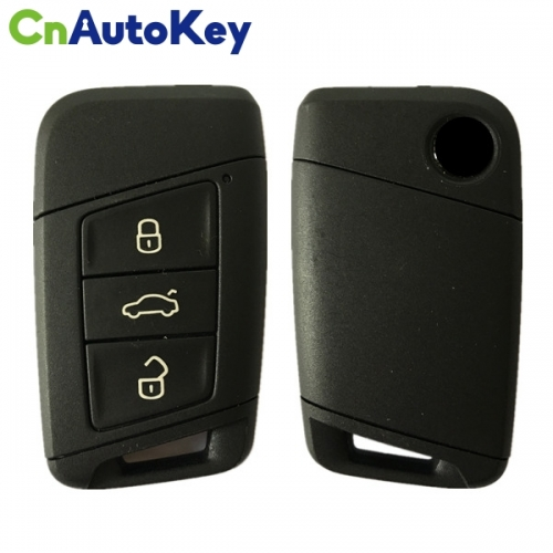 CN001081 ORIGINAL Smart Key for VW Passat B8 3Buttons 434 MHz MEGAMOS88 AES Part No 3V0 959 752