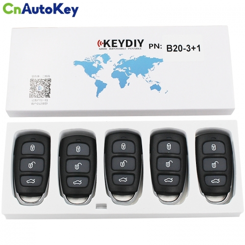 B20-4 Hyundaimodel KEY DIY remote for KD900 KD200 URG200 KD300 car key generate device