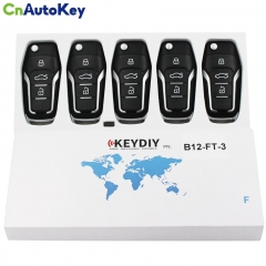 B12-3 KD900 URG200 Remote Control 3 Buttons Car Key Remote F Style For KD900