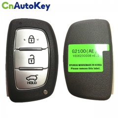 CN020061 Genuine 2016 Hyundai Ioniq Genuine Smart Key Remote 3 Buttons 433MHz 95440-G2100