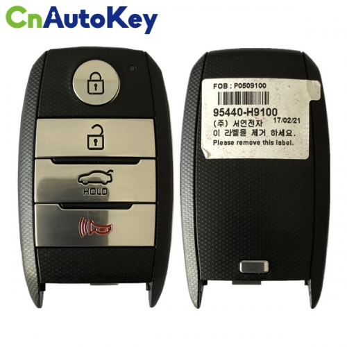 CN051084 for KIA Smart Remote Key 3+1 Button 433MHz 8A 95440-H9100 SYEC3FOB1611
