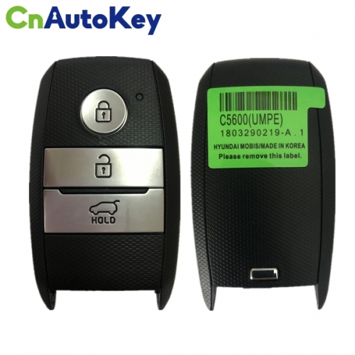 CN051085 3 Buttons Genuine Smart Key Remote 2018 433MHz 95440-C5600 for KIA Sorento