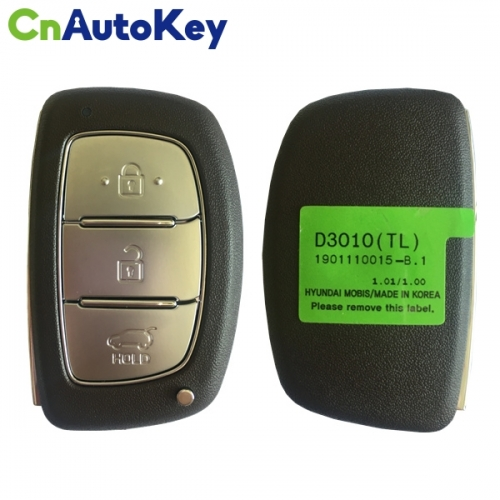 CN020129 For Hyundai Tucson Smart Key Remote 2018, 3 Buttons 433MHz 95440-D3010