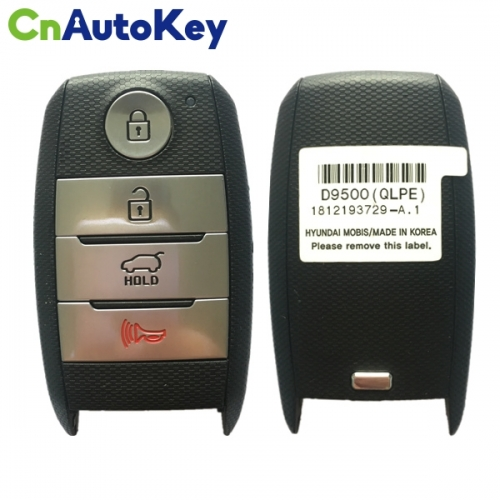 CN051087 2018-2019 Kia Sportage  4-Button Smart Key  PN 95440-D9500  TQ8-FOB-4F08 (OEM)