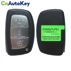 CN020130 For Hyundai Tucson 2019 Genuine Smart Remote Key 3 Buttons 433MHz 95440-D3500