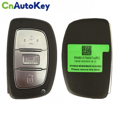 CN020131 For Hyundai Tucson 2019 Smart Remote Key 3 Buttons 433 MHz 95440-D7000