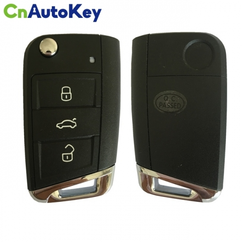 CNKY016 KYDZ For VW MQB Smart Remote Key machine 3 Button without Emergancy Key