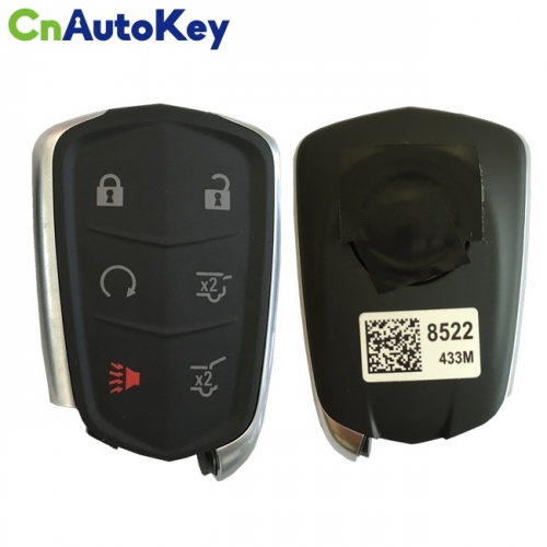 CN030011 For Cadillac Escalade Smart Key 433Mhz Pcf7937E Ncf2951E Transponder Chip Fcc Id Hyq2Eb