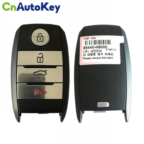 CN0510935 For KIA Para Stonic Genuine Smart Key Remote 2017 4 Button 433MHz 95440-H8000