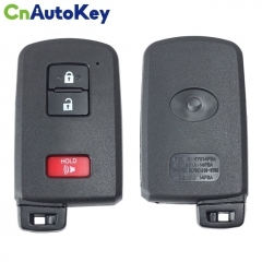 CN007147 2012-2019 For Toyota Prius Tacoma Land Cruiser  3-Button Smart Key  PN 89904-0E091  HYQ14FBA (AG Board 2110 PCB)