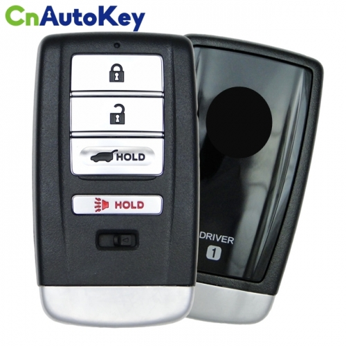 CN003125 For 2014 - 2018 Acura MDX 4 Button Smart Key Driver 2 Fcc KR5V1X Pn 72147-TZ5-A11