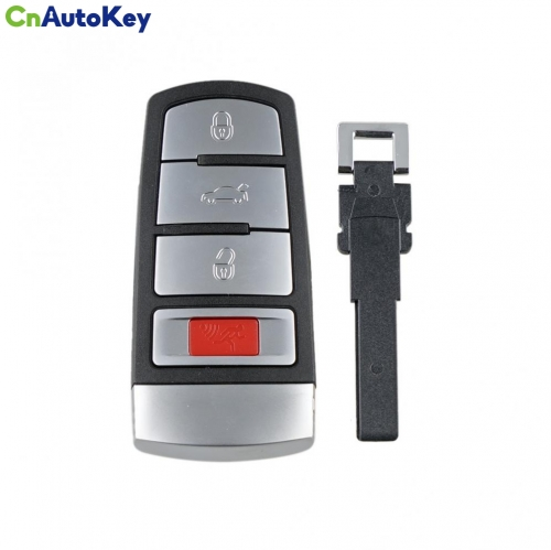 CN001032 315Mhz 3+1 Buttons Car Remote Key Fob Smart Remote Key with ID48 Chip NBG009066T Fit for VW Passat CC 2006 - 2014