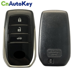 CN007151 For Toyota Camry smart key 3Buttons BJ1EW PAGE1 88 DST-AES Chip, 433MHz with Keyless Go 89904-33660