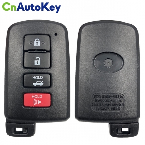 CN007146 2014-2019 For Toyota Highlander  4-Button Smart Key 312mhz  PN 89904-0E121  HYQ14FBA (AG Board)
