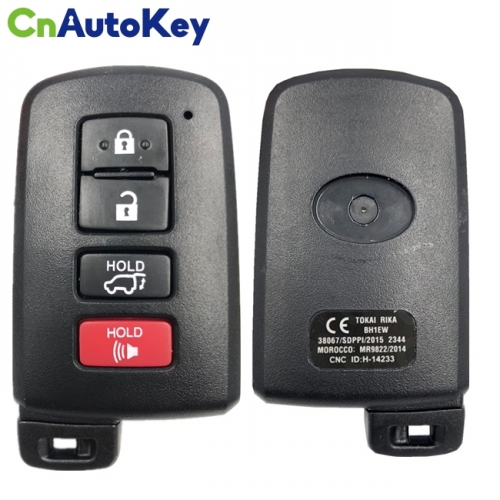 CN007165 2016 - 2017 Toyota Land Cruiser - Smart Key 4B - 433MHz - BH1EW - 89904-60K00