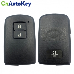 CN007162 For Toyota Land Cruiser Smart Key, 2Buttons, BH1EK P1 A8 DST-AES Chip, 433MHz 89904-60D70 Keyless Go