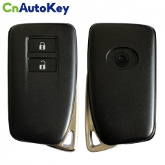 CN052017  For Lexus NX200t keyless remote car key with 2 button 312/314MHz 8A chip FCCID 14FAB-02 pcb number 281451-2110