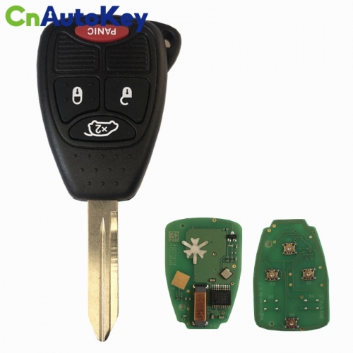 CN015089 2004 - 2016 Chrysler, Dodge, Jeep 4 Button Remote Head Key - OHT692427AA OHT692713AA