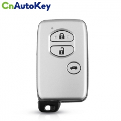 CN007171 For Toyota Land Cruiser 2008+ Smart Key, 2Buttons, B77EA P1 98 4D-67 Chip, 433MHz Light Gray 89904-60A91 Keyless Go PCB A433