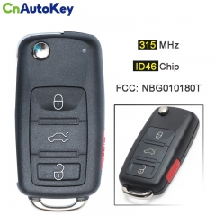 CN001099  remote car key 315Mhz for Volkswagen VW Jetta Passat Beetle Tiguan EOS Golf 2011-2017 48 CHIP 5K0 837 202 AE NBG010180 T