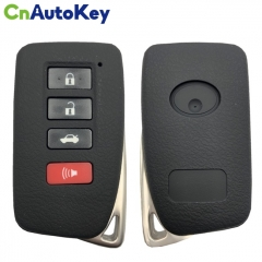 CN052025 For Lexus ES350, ES300H, GS350, GS450 2013+ Smart Key, 4Buttons, BC4EK P1 88 DST-AES Chip, 433MHz 89904-30C80 Keyless Go