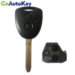 CN007177 2 Button Remote Car Key 315MHz Fob for Toyota AVANZA 2016 2017 2018 with G Chip